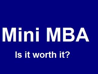 Benefits of a Mini MBA
